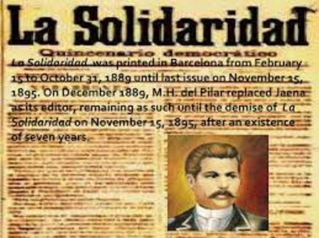 propaganda philippine revolution and jose rizal A brief description of the history of the philippines h del pilar were the most prominent members of the propaganda movement at that time jose rizal's bonifacio and other radicals to establish the katipunan and set the philippine revolution in place in 1892, jose rizal.
