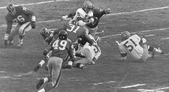 Giants-Packers Title Game : 1962