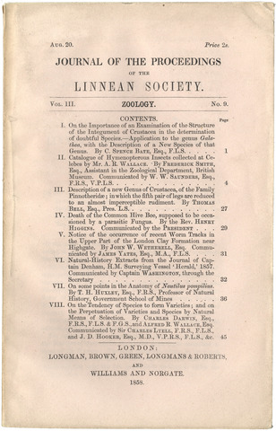 essay on darwins theory of natural selection Scientists and philosophers submit personal reflections on the significance and influence of darwin's theory and of current views of evolution within contemporary psychology evolutionary theory and psychology in particular instruction in the theory of evolution by natural selection.