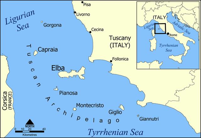 Forvist til Elba