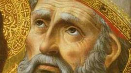 De San Agustin al imperio Carolingio timeline