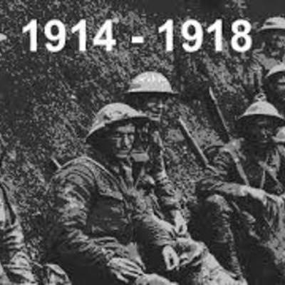 WWI Major Events timeline