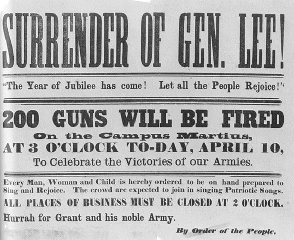 End of the American Civil War