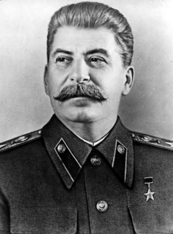 Stalin succeeds to another.