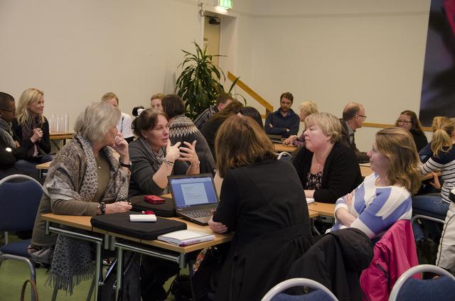 Seminarium med alla tio enheter. Inledning och diskussion fas 2
