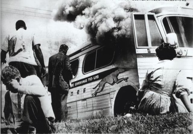 Freedom Riders Take A Bus Trip