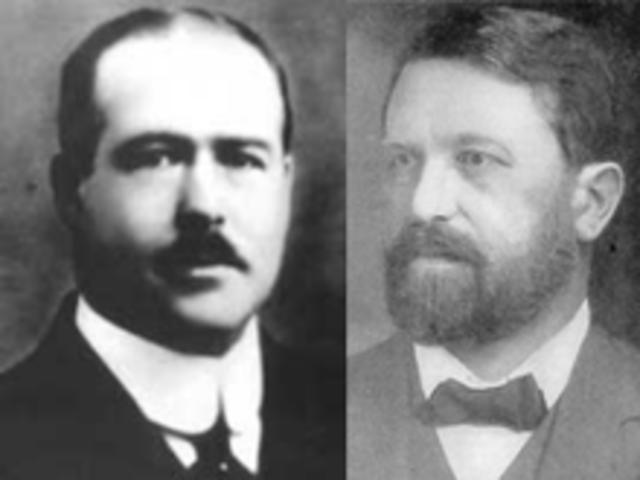 Theodor Boveri y Walter Sutton.