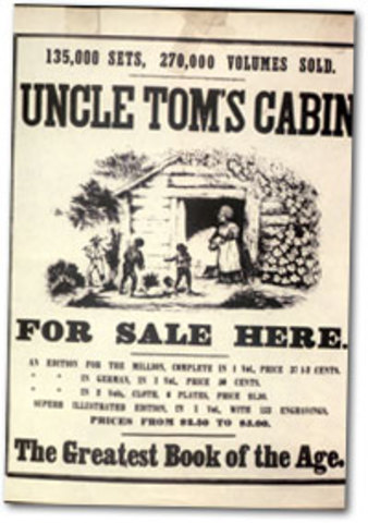 the horror of slavery in the novel uncle toms cabin by harriet beecher stowe Harriet beecher stowe , stowe's portrayal of black people in uncle tom's cabin the astounding popularity of stowe's first novel is worth noting--she.