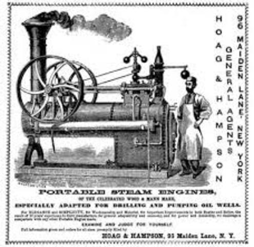Inventions during the industrial revolution timeline for How to get motor oil out of wood