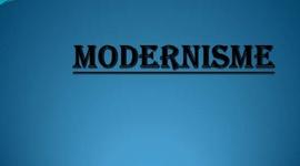 Modernisme timeline