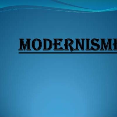 El Modernisme timeline
