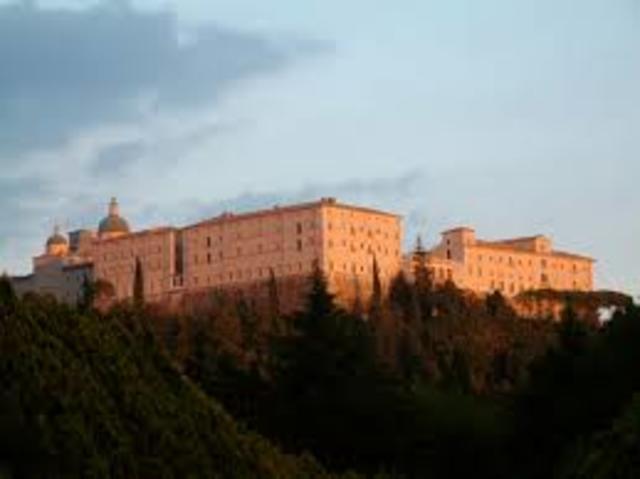 St Benedict dies at Monte Casino