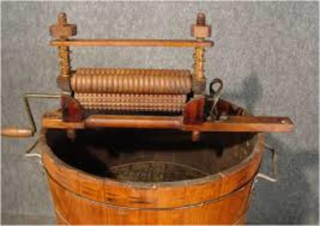 Evolution Of The Washing Machine Timeline Timetoast Timelines