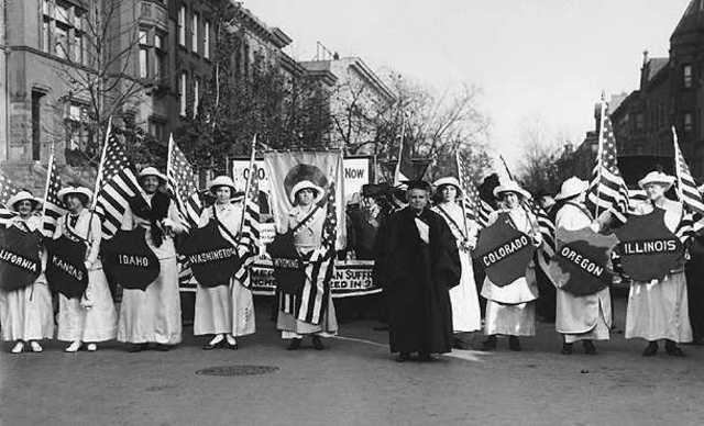 The Women's Suffrage Movement timeline | Timetoast timelines