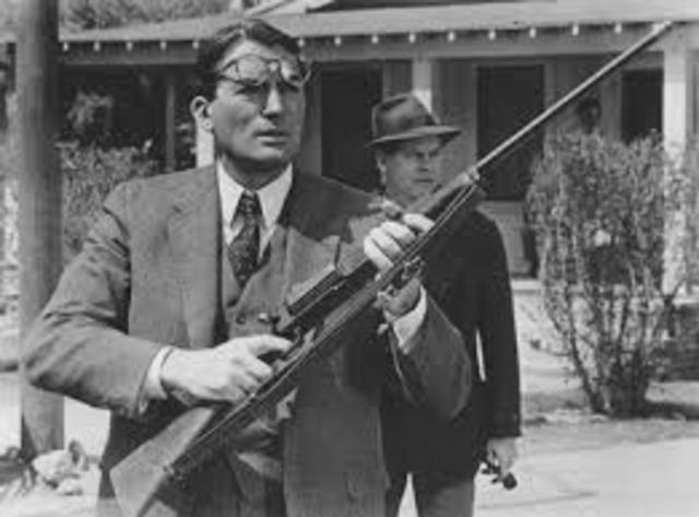 10 important events in to kill a mockingbird