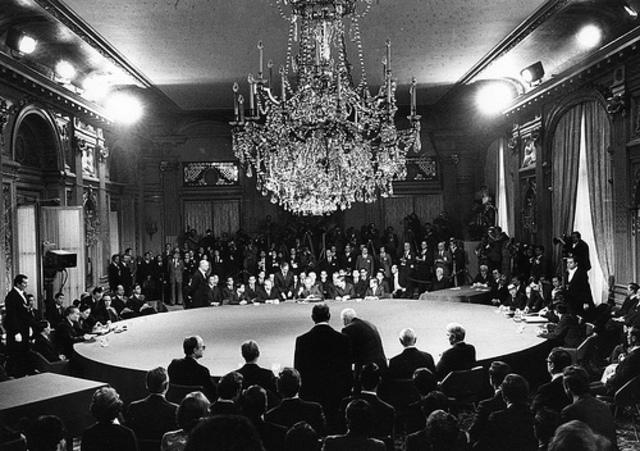 Peace Talks Begin in Paris