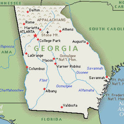 Modern Georgia and Civil Rights Segregation and Civil Rights timeline