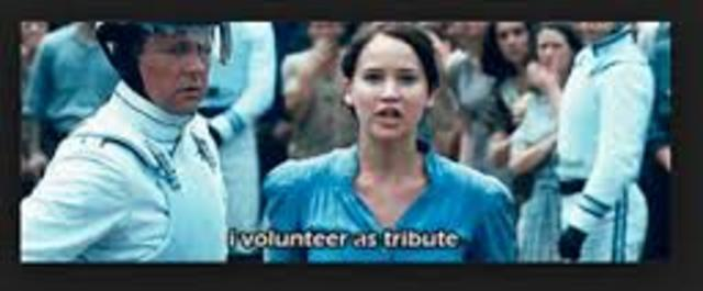 in the hunger games what is the reaping
