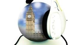 Les inventions liées a l'évolution des parcours touristiques audio guidés. timeline