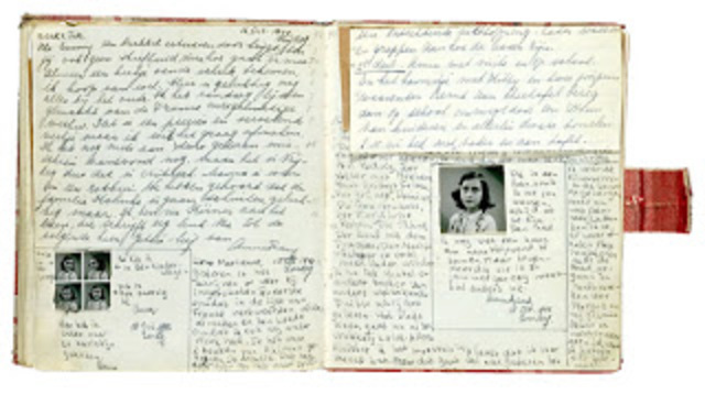 """an overview of the entries in the diary of anne frank a nazi victim Finally, the long time fraud of anne frank's diary was publicly admitted by  he  signs his entries as """"anne frank""""  students give the heil hitler salute and  carry nazi banners and insignia in photos posted  disgusting liars glorified as  heroes and victims in the steven spielberg  read the description."""