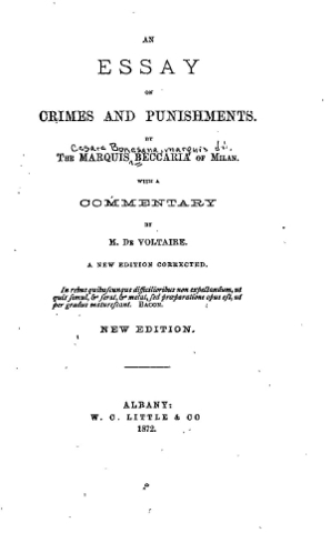 Essay of crime
