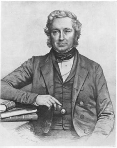 El botánico John Henslow despierta el interés de Darwin por la historia natural.