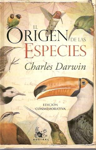 """Darwin publica """"El origen de las especies por medio de la selección natural, o la conservación de las razas favorecidas en la lucha por la vida""""."""