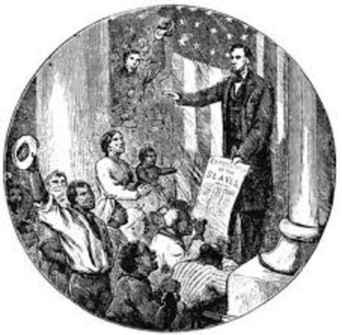 abraham lincoln and the emancipation of slavery The evolution of lincoln's view on slavery was a complex process like his view on emancipation, his position on social and political equality of blacks and whites would evolve over the years taking a turning point during his two terms as president.
