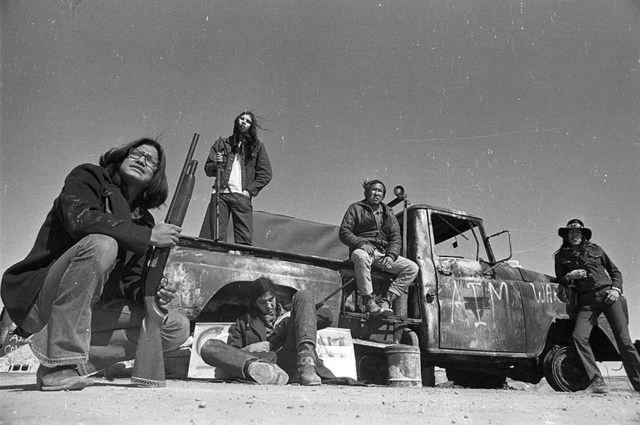 Wounded Knee conflict 1973