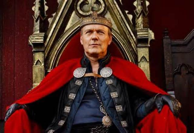 King Uther Pendragon Consults Merlin