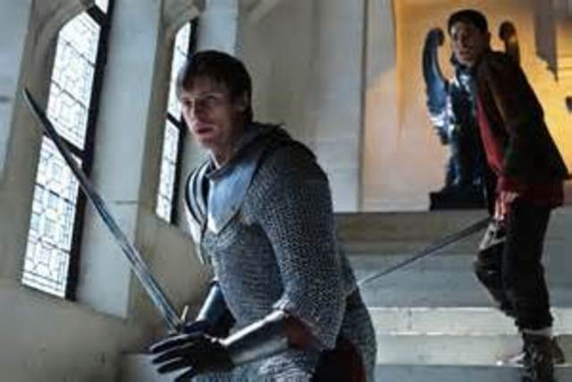 Fighting over the rightful replacement of king Uther