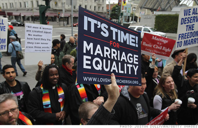 Date when massachusetts legalized gay marriages