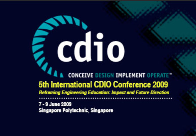 Singapore Polytechnic hosted the 5th International CDIO Conference