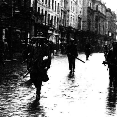 Den irske borgerkrig timeline