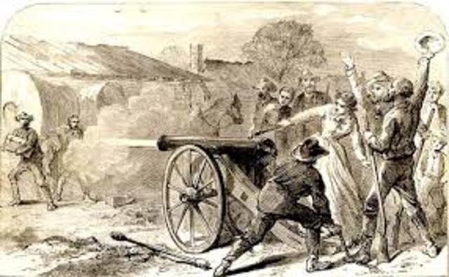 Fight at Alamo