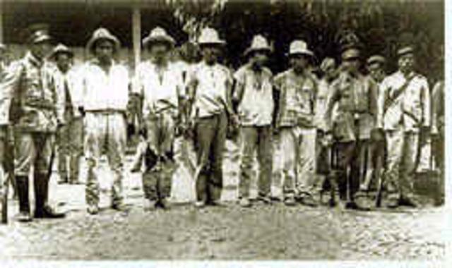 Levantamiento campesino en El Salvador