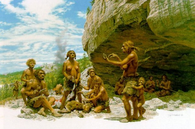 Prehistoria 2.500.000 años-3.000 a.C :Etapa Signos y Señales: Comunicación oral por sonidos, gestos, señales