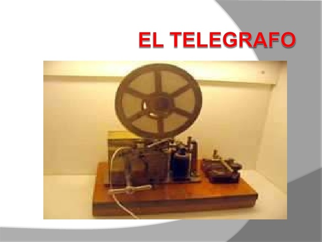 Siglo XIX En el año 1.837 Invención del telégrafo. Es el inicio de la Etapa de la Revolución de los medios de comunicación
