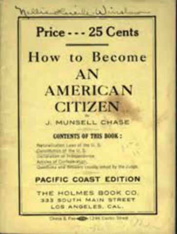 Citizenship Law: 1790