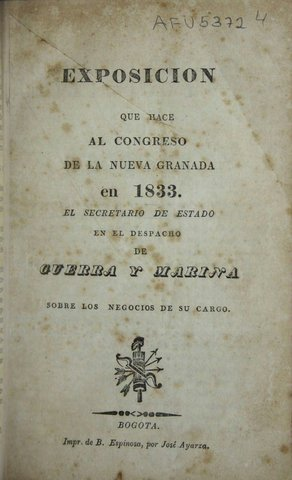 Congreso de 1833