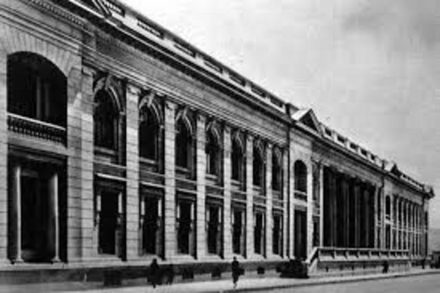 Educación Secundaria y Superior en1836