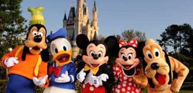 Mi famila fue Disney