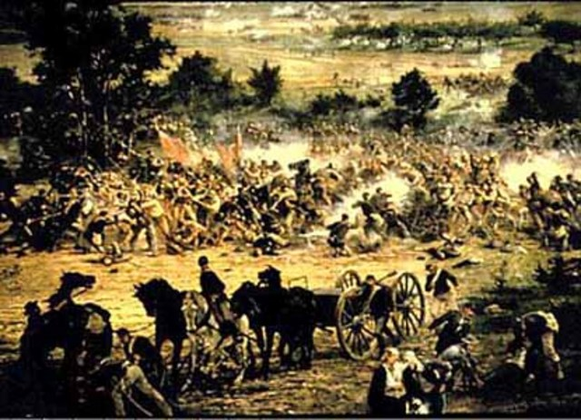 Pickett's Charge (Third and final day of Gettysburg)