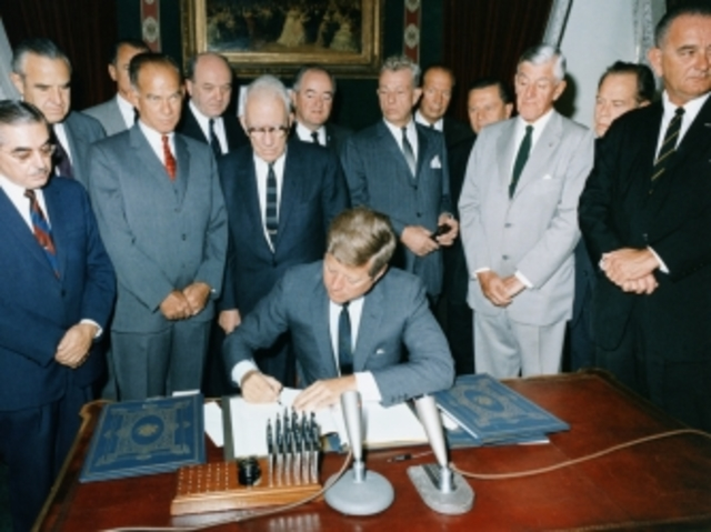 Limited Nuclear Test Ban Treaty