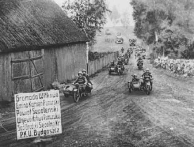 Germanys invasion of Poland