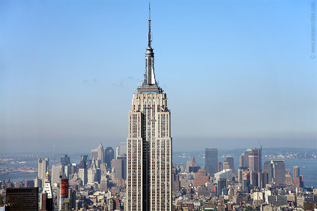 The empire state building open