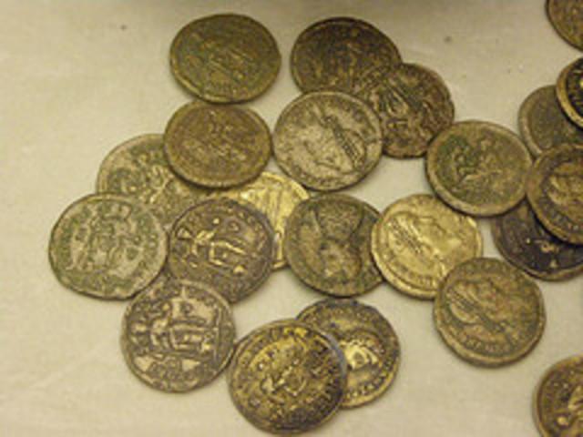 ROMAN  COINS in Slovakia