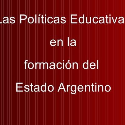 La política educativa en el Estado oligárquico liberal timeline
