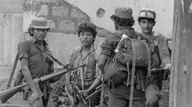 Inicios de la guerra en El Salvador timeline