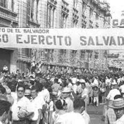 como comenso la guerra en El Salvador timeline